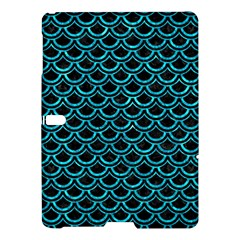 Scales2 Black Marble & Turquoise Marble Samsung Galaxy Tab S (10 5 ) Hardshell Case  by trendistuff