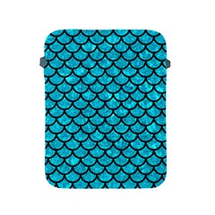 Scales1 Black Marble & Turquoise Marble (r) Apple Ipad 2/3/4 Protective Soft Case by trendistuff
