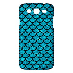 Scales1 Black Marble & Turquoise Marble (r) Samsung Galaxy Mega 5 8 I9152 Hardshell Case  by trendistuff