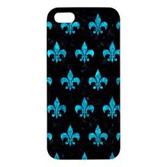 Royal1 Black Marble & Turquoise Marble (r) Iphone 5s/ Se Premium Hardshell Case by trendistuff