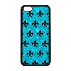 Royal1 Black Marble & Turquoise Marble Apple Iphone 5c Seamless Case (black) by trendistuff