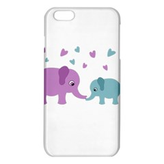Elephant Love Iphone 6 Plus/6s Plus Tpu Case by Valentinaart