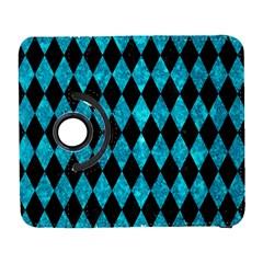 Diamond1 Black Marble & Turquoise Marble Samsung Galaxy S  Iii Flip 360 Case by trendistuff