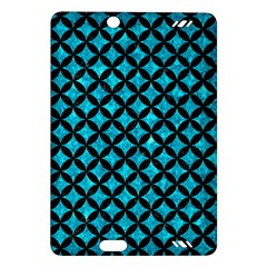 Circles3 Black Marble & Turquoise Marble (r) Amazon Kindle Fire Hd (2013) Hardshell Case by trendistuff