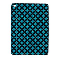 Circles3 Black Marble & Turquoise Marble (r) Apple Ipad Air 2 Hardshell Case by trendistuff