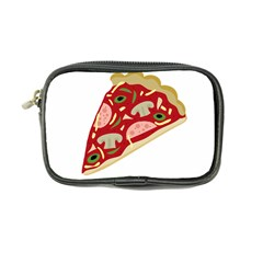 Pizza Slice Coin Purse by Valentinaart