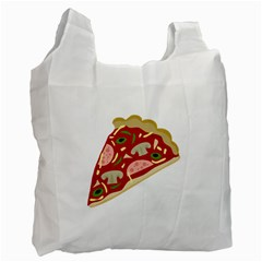 Pizza Slice Recycle Bag (one Side)