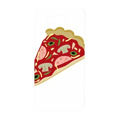 Pizza Slice Samsung Galaxy Alpha Hardshell Back Case by Valentinaart