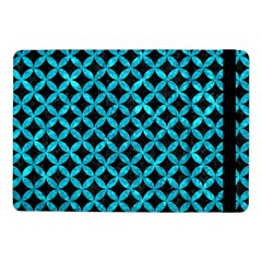 Circles3 Black Marble & Turquoise Marble Samsung Galaxy Tab Pro 10 1  Flip Case by trendistuff