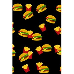 Hamburgers And French Fries Pattern 5 5  X 8 5  Notebooks by Valentinaart