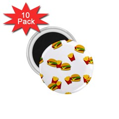 Hamburgers And French Fries  1 75  Magnets (10 Pack)  by Valentinaart