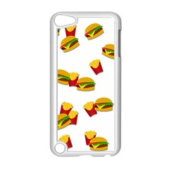 Hamburgers And French Fries  Apple Ipod Touch 5 Case (white) by Valentinaart