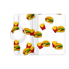 Hamburgers And French Fries  Kindle Fire Hd (2013) Flip 360 Case by Valentinaart
