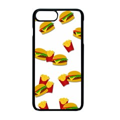 Hamburgers and french fries  Apple iPhone 7 Plus Seamless Case (Black)