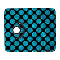 Circles2 Black Marble & Turquoise Marble Samsung Galaxy S  Iii Flip 360 Case by trendistuff
