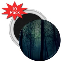 Dark Forest 2 25  Magnets (10 Pack)  by Brittlevirginclothing