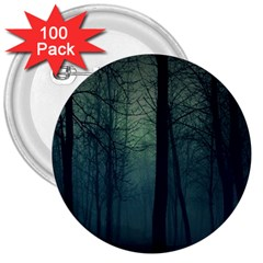 Dark Forest 3  Buttons (100 Pack)  by Brittlevirginclothing