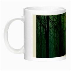 Dark Forest Night Luminous Mugs by Brittlevirginclothing