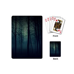 Dark Forest Playing Cards (mini)  by Brittlevirginclothing