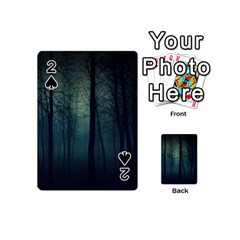 Dark Forest Playing Cards 54 (mini)  by Brittlevirginclothing