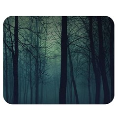 Dark Forest Double Sided Flano Blanket (medium)  by Brittlevirginclothing