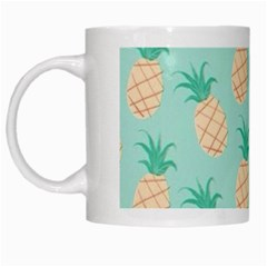 Pineapple White Mugs by Brittlevirginclothing