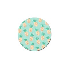 Pineapple Golf Ball Marker (4 Pack) by Brittlevirginclothing