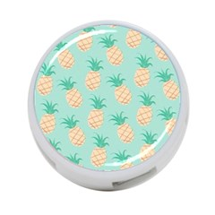 Pineapple 4 Port Usb Hub (one Side) by Brittlevirginclothing