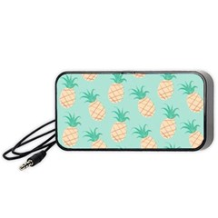 Pineapple Portable Speaker (black) by Brittlevirginclothing