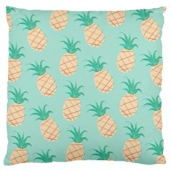 Pineapple Large Cushion Case (two Sides) by Brittlevirginclothing