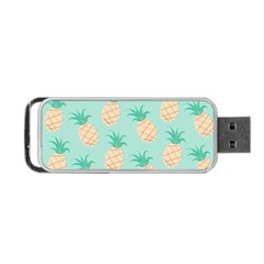 Pineapple Portable Usb Flash (one Side) by Brittlevirginclothing