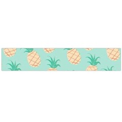 Pineapple Flano Scarf (large)  by Brittlevirginclothing