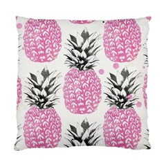 Pink Pineapple Standard Cushion Case (one Side) by Brittlevirginclothing