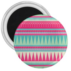 ¨pink Bohemian 3  Magnets by Brittlevirginclothing