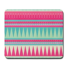 ¨pink Bohemian Large Mousepads by Brittlevirginclothing
