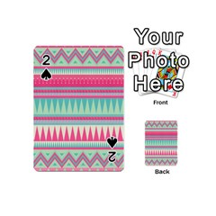 ¨pink Bohemian Playing Cards 54 (mini)  by Brittlevirginclothing