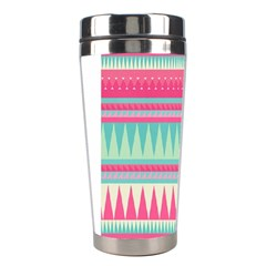¨pink Bohemian Stainless Steel Travel Tumblers by Brittlevirginclothing