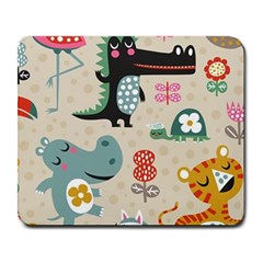 Cute Cartoon Large Mousepads by Brittlevirginclothing