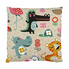 Cute Cartoon Standard Cushion Case (two Sides) by Brittlevirginclothing