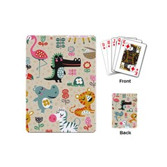 Cute Cartoon Playing Cards (mini)  by Brittlevirginclothing