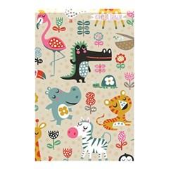 Cute Cartoon Shower Curtain 48  X 72  (small)  by Brittlevirginclothing