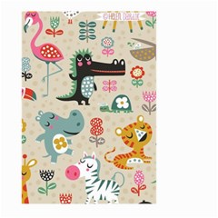 Cute Cartoon Large Garden Flag (two Sides) by Brittlevirginclothing
