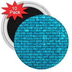 BRK1 BK-TQ MARBLE (R) 3  Magnets (10 pack)  by trendistuff