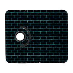Brick1 Black Marble & Turquoise Marble Samsung Galaxy S  Iii Flip 360 Case by trendistuff