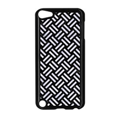 Woven2 Black Marble & White Marble Apple Ipod Touch 5 Case (black) by trendistuff