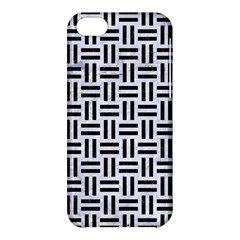 Woven1 Black Marble & White Marble (r) Apple Iphone 5c Hardshell Case by trendistuff