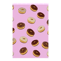 Donuts Pattern   Pink Shower Curtain 48  X 72  (small)  by Valentinaart
