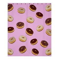 Donuts Pattern   Pink Shower Curtain 60  X 72  (medium)  by Valentinaart