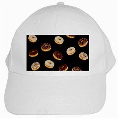 Donuts White Cap by Valentinaart