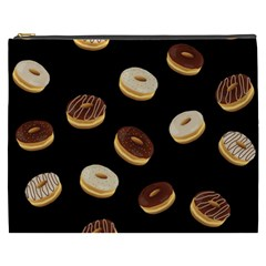Donuts Cosmetic Bag (xxxl)  by Valentinaart